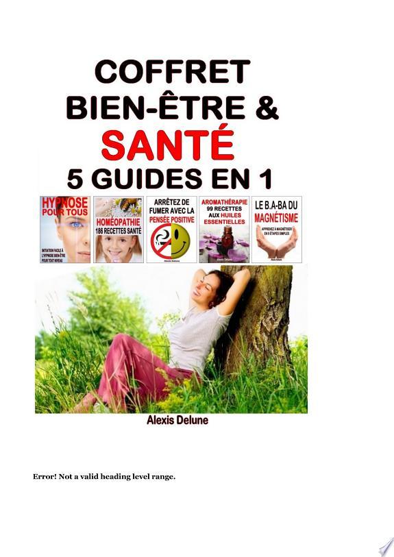 Coffret Bien-être & Santé : 5 guides en 1