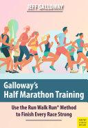 Galloway s Half Marathon Training
