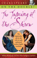Shakespeare on the Double  The Taming of the Shrew Book