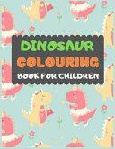 Dinosaur Colouring Book For Children