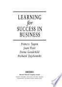 Learning for Success in Business