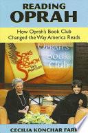 Reading Oprah