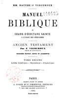 Manuel biblique