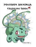 Pokemon Mandala Coloring Book Volume 3