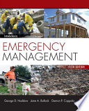 """""""Introduction to Emergency Management"""" by Jane A. Bullock, George D. Haddow, Damon P. Coppola"""