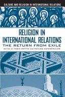 Religion in International Relations