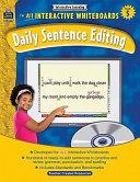 Interactive Learning: Daily Sentence Editing, Grade 5