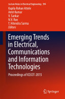 Emerging Trends in Electrical, Communications and Information Technologies [Pdf/ePub] eBook