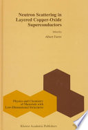 Neutron Scattering In Layered Copper Oxide Superconductors Book PDF