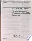 U S China Trade