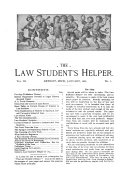 The Law Student s Helper