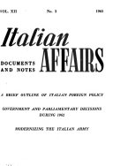 Italy; Documents and Notes