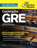 Cracking the Gre 2016