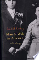 Man and Wife in America Book