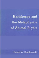 Hartshorne and the Metaphysics of Animal Rights