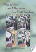 Need to Know and Other Stories from North Carolina Book