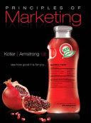 Principles Of Marketing  A South Asian Perspective  13 E Book