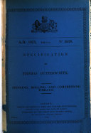 Specifications of Inventions...