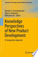 Knowledge Perspectives of New Product Development Book