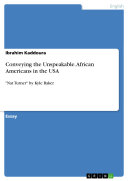 Conveying the Unspeakable. African Americans in the USA Book