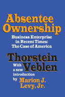 Absentee Ownership