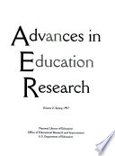 Advances In Education Research