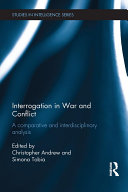 Pdf Interrogation in War and Conflict Telecharger