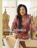 Small Business  An Entrepreneur s Business Plan