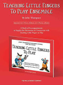 Teaching Little Fingers to Play Ensemble Book PDF