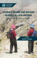 Citizen's Income and Welfare Regimes in Latin America Pdf/ePub eBook