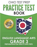 Ohio Test Prep Practice Test Book English Language Arts Grade 3