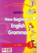 Pdf Wren New Beginner's English Grammar 3 Telecharger