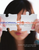 Abnormal Psychology  Clinical Perspectives on Psychological Disorders Book