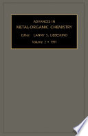 Advances In Metal Organic Chemistry Book PDF