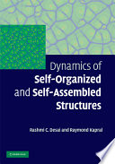 Dynamics of Self Organized and Self Assembled Structures Book