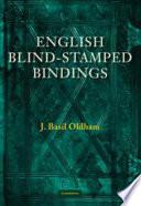 English Blind Stamped Bindings