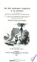 Sir Edward Seaward s narrative of his shipwreck  and consequent discovery of certain islands in the Caribbean Sea