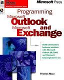 Programming Microsoft Outlook and Microsoft Exchange