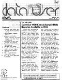 Data User News