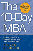 The 10 day MBA Book