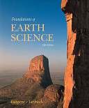 Foundations of Earth Science Value Package  Includes Geoscience Animation Library CD ROM