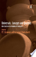 Universals  Concepts and Qualities