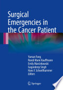 Surgical Emergencies in the Cancer Patient