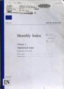 Index to the Official Journal of the European Union