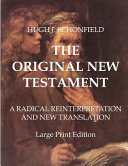 The Original New Testament   Large Print Edition
