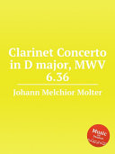 Clarinet Concerto in D major, MWV 6.36