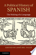 A Political History Of Spanish