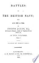 Battles of the British Navy Book PDF