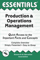 Production & Operations Management Essentials