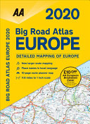 Big Road Atlas Europe 2020
